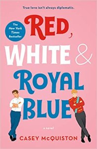 Book Cover - Red, White & Royal Blue.
